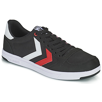 Schuhe Herren Sneaker Low Hummel STADIL LIGHT CANVAS Schwarz / Rot