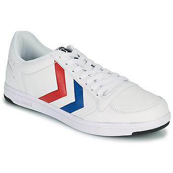 Schuhe Herren Sneaker Low Hummel STADIL LIGHT Weiss / Blau / Rot