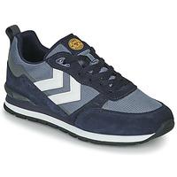 Schuhe Herren Sneaker Low Hummel THOR Schwarz