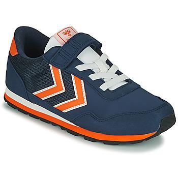 Schuhe Kinder Sneaker Low Hummel REFLEX JR Blau