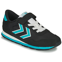 Schuhe Kinder Sneaker Low Hummel REFLEX JR Schwarz