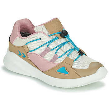 Schuhe Kinder Sneaker Low Hummel BOUNCE RUNNER TEX JR Beige / Rose