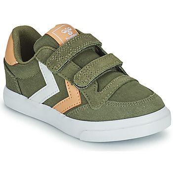 Schuhe Kinder Sneaker Low Hummel STADIL LOW JR Grün