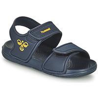 Schuhe Kinder Sportliche Sandalen Hummel PLAYA JR Blau