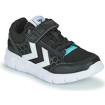 Schuhe Kinder Sneaker Low Hummel CROSSLITE JR Schwarz