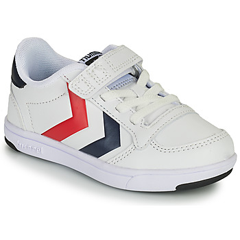 Schuhe Kinder Sneaker Low Hummel STADIL LIGHT QUICK JR Weiss