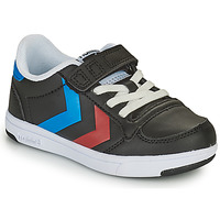 Schuhe Kinder Sneaker Low Hummel STADIL LIGHT QUICK JR Schwarz