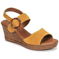 Schuhe Damen Sandalen / Sandaletten S.Oliver SAPINO Senf