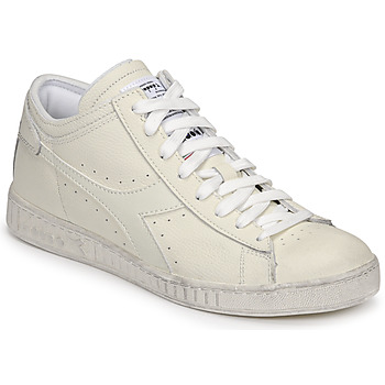 Schuhe Sneaker High Diadora GAME L WAXED ROW CUT Weiss