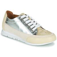 Schuhe Damen Sneaker Low Karston CAMINO Beige / Silbern