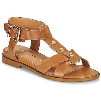 Schuhe Damen Sandalen / Sandaletten Karston SOCAS Camel