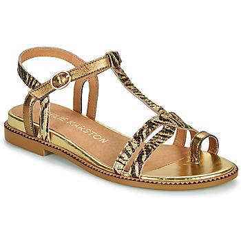 Schuhe Damen Sandalen / Sandaletten Karston SOREN Gold