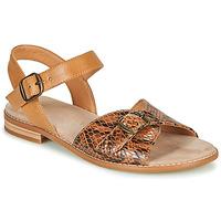 Schuhe Damen Sandalen / Sandaletten Karston XABERO Camel