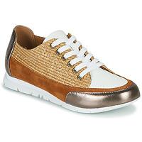 Schuhe Damen Sneaker Low Karston CAMINO Braun / Bronze