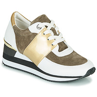Schuhe Damen Sneaker Low Karston SILMON Weiss / Gold