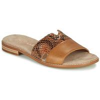 Schuhe Damen Pantoffel Karston XAPLINA Braun
