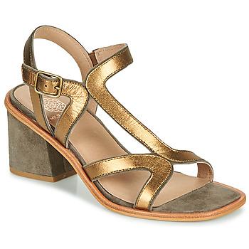 Schuhe Damen Sandalen / Sandaletten Karston PSOK Kaki / Bronze