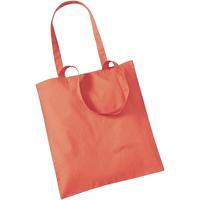 Taschen Shopper / Einkaufstasche Westford Mill W101 Koralle