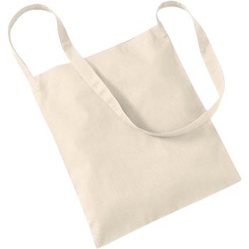 Taschen Shopper / Einkaufstasche Westford Mill W107 Natur