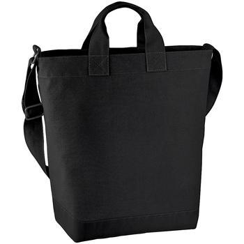 Taschen Damen Shopper / Einkaufstasche Bagbase BG673 Schwarz