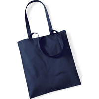 Taschen Shopper / Einkaufstasche Westford Mill W101 Marineblau