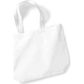 Taschen Damen Shopper / Einkaufstasche Westford Mill W125 Weiß