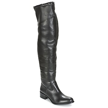Schuhe Damen Kniestiefel Betty London GLAMOU Schwarz