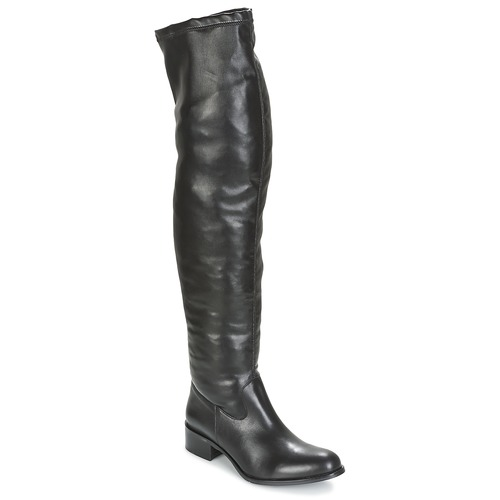Betty London GLAMOU Schwarz  Schuhe Kniestiefel Damen 115
