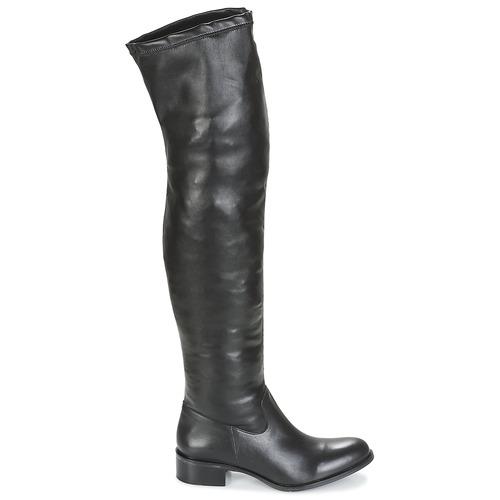 Betty London GLAMOU Schwarz  Schuhe Kniestiefel Damen 115