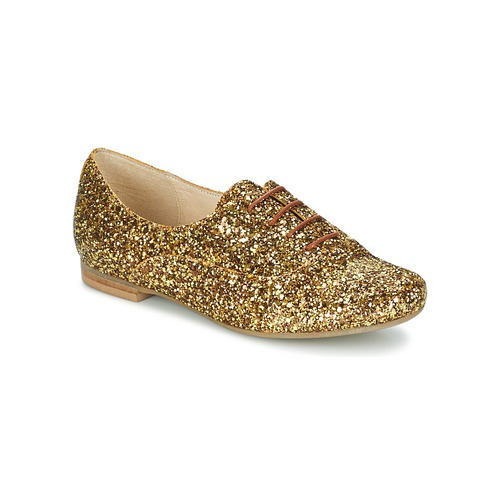 Betty London CLAPCLAP Goldfarben Schuhe Richelieu Damen 30