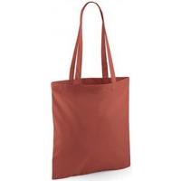 Taschen Shopper / Einkaufstasche Westford Mill W101 Rost-Orange