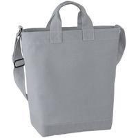 Taschen Damen Shopper / Einkaufstasche Bagbase BG673 Hellgrau