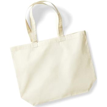 Taschen Shopper / Einkaufstasche Westford Mill W125 Natur