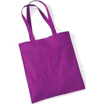 Taschen Shopper / Einkaufstasche Westford Mill W101 Magenta