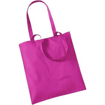 Taschen Shopper / Einkaufstasche Westford Mill W101 Fuchsie