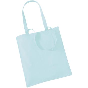 Taschen Shopper / Einkaufstasche Westford Mill W101 Pastel/ Mint