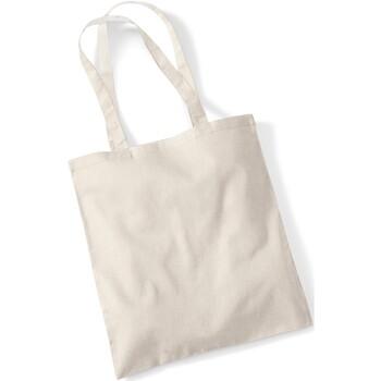 Taschen Shopper / Einkaufstasche Westford Mill W101 Sandfarben