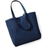 Taschen Shopper / Einkaufstasche Westford Mill W180 Marineblau