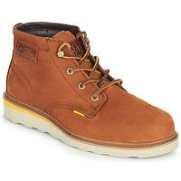 Schuhe Herren Boots Caterpillar JACKSON MID Braun