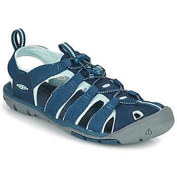 Schuhe Damen Sportliche Sandalen Keen CLEARWATER CNX Blau