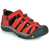 Schuhe Kinder Sportliche Sandalen Keen NEWPORT H2 Rot