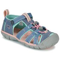 Schuhe Mädchen Sportliche Sandalen Keen SEACAMP II CNX Grau / Rose