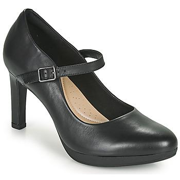 Schuhe Damen Pumps Clarks AMBYR SHINE Schwarz