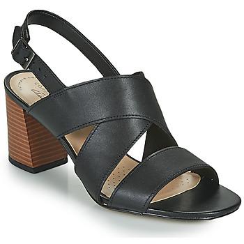 Schuhe Damen Sandalen / Sandaletten Clarks JOCELYNNE BAO Schwarz