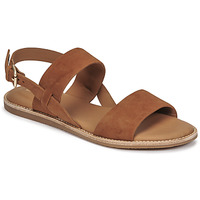 Schuhe Damen Sandalen / Sandaletten Clarks KARSEA STRAP Camel