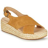 Schuhe Damen Sandalen / Sandaletten Clarks KIMMEI CROSS Braun