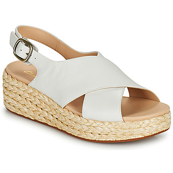 Schuhe Damen Sandalen / Sandaletten Clarks KIMMEI CROSS Weiss