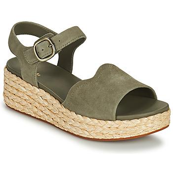 Schuhe Damen Sandalen / Sandaletten Clarks KIMMEI WAY Kaki