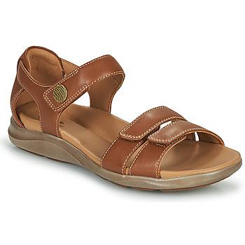 Schuhe Damen Sandalen / Sandaletten Clarks KYLYN STRAP Beige