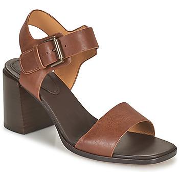 Schuhe Damen Sandalen / Sandaletten Clarks LANDRA70 STRAP Braun